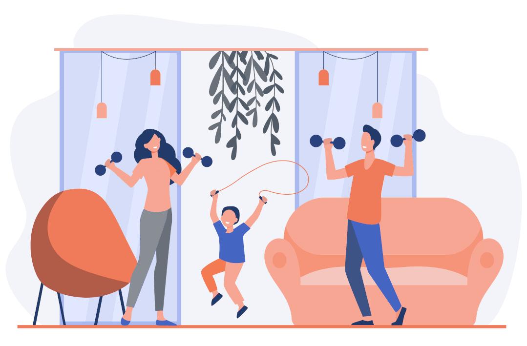 illustration-activite-physique-en-famille